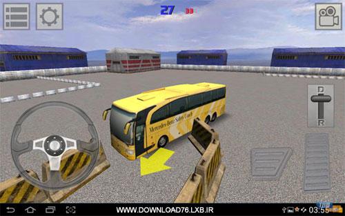 دانلود نسخه 2 بازی فوق العاده زیبا و اعتیاد آور شبیه ساز رانندگی اتوبوس آندروید bus parking 2 1.1.0